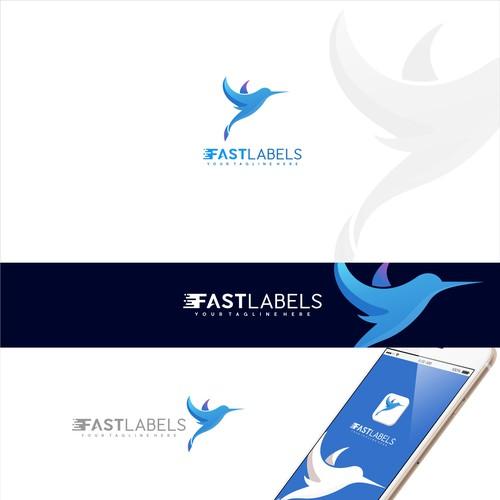 Logo concept for FastLabels