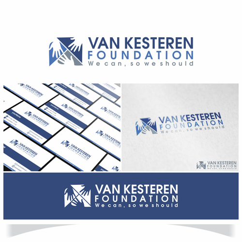 Van Kesteren Foundation logo designs.