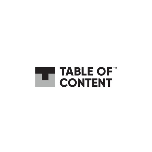 Logo design for Tabel of Content