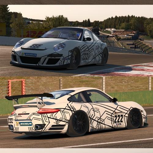 Porsche GT4 Supercup Wrap