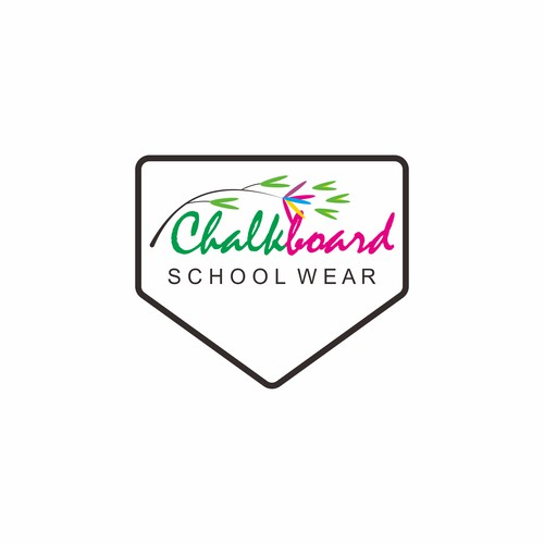 logo for Chalkboard School Wear
