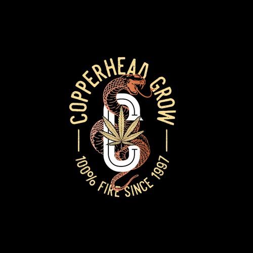Copperhead Grow Cannabis logo