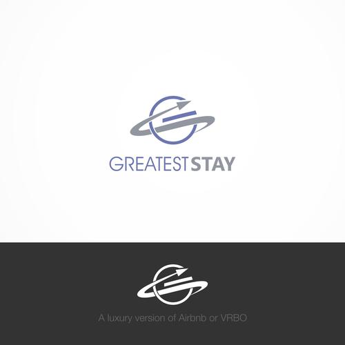 Bold logo design concept for GS Travel