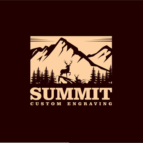 Mount,elk,wildlife project for Summit Custom Engraving