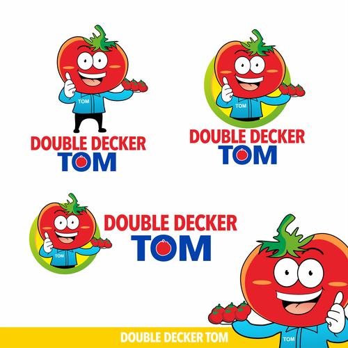 Mascot for TOM Tomato