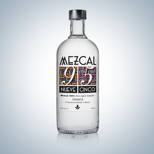 **GUARANTEED** New Bottle and Label design wanted for Mezcal 9 5