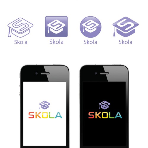 Education APP. Modern and happy.