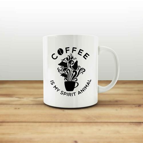 Illustration Mug Mockup