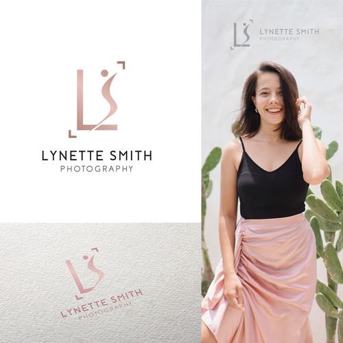 Lynette Smith Photography Logo Design
