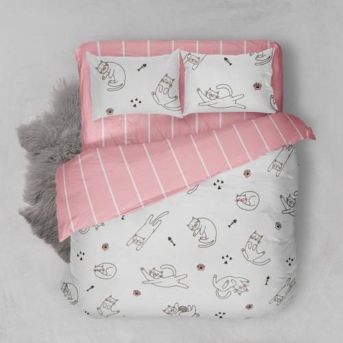 Bed linen design.