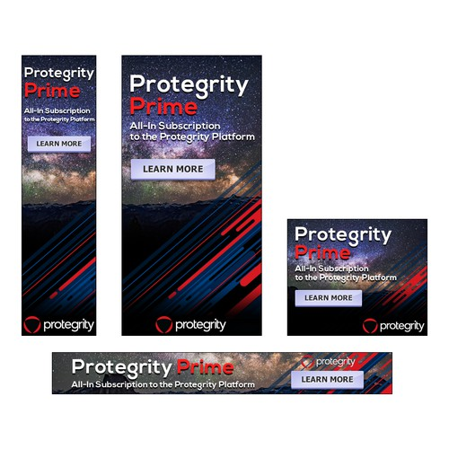 Banner set PROTEGRITY PRIME