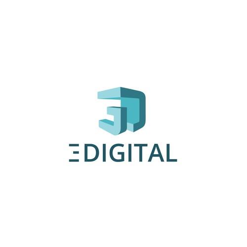 3d logo for 3digital