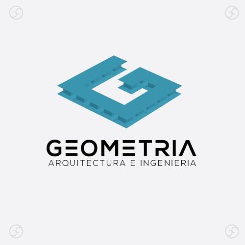 Logo para estudio de Arquitectos e Ingenieros