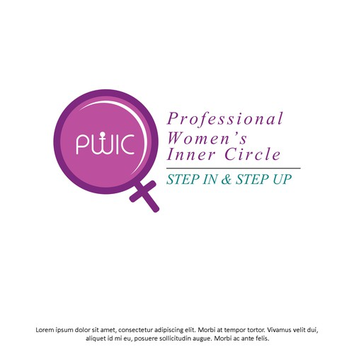 Professional Women's Networking Logo Design