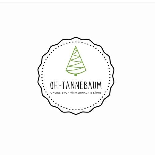 "Logo concept for ""Oh-Tannebaum"""