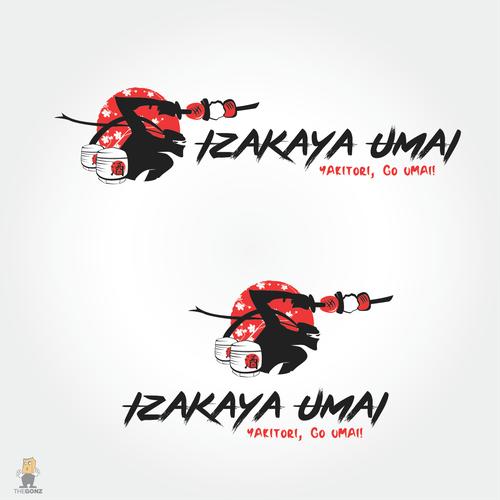 Logo for a Japanese Izakaya Style Restaurant