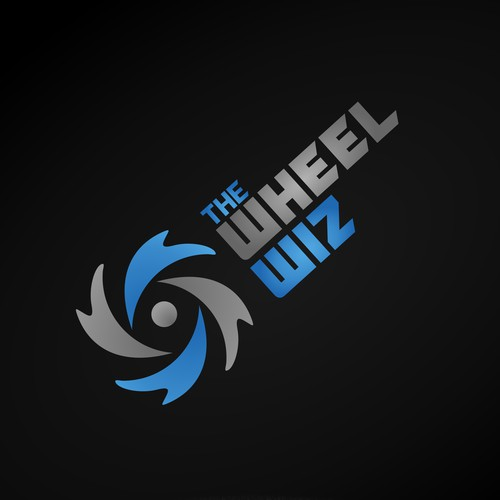 unique logo design concept for The Wheel Wiz