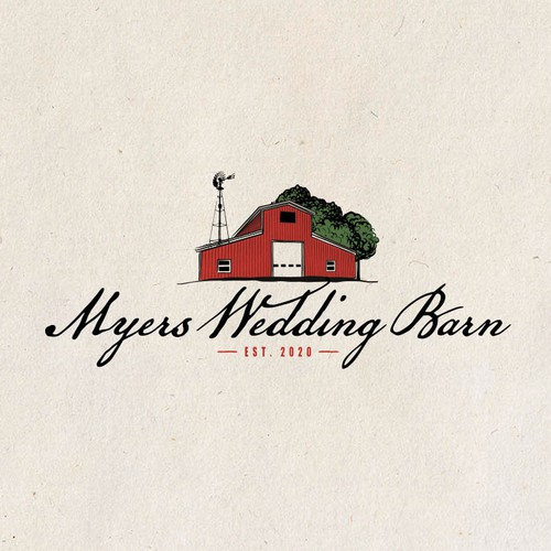 Logo for a Wedding Barn