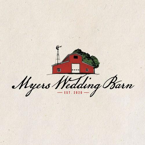 Logo for a Wedding Barn