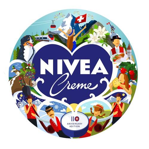 Nivea Cream artwork