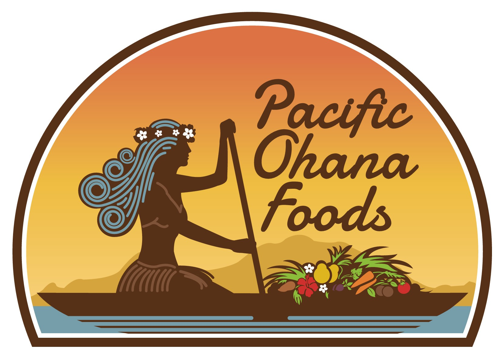 Transform the Love and Aloha that goes into our food into our logo