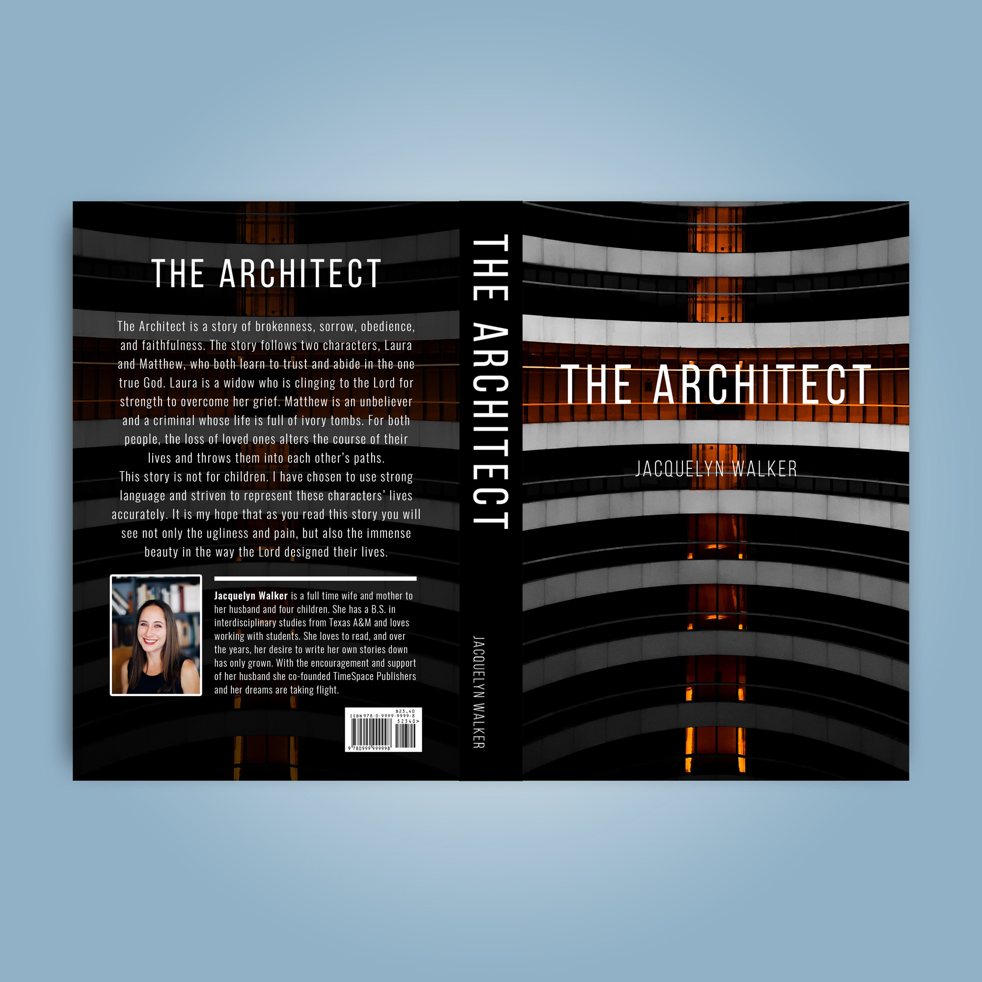 """Cover Design for """"The Architect"""""""