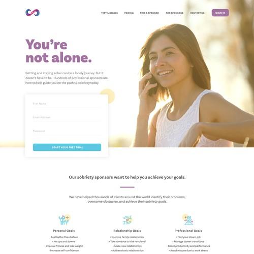 Sobriety.com Redesign