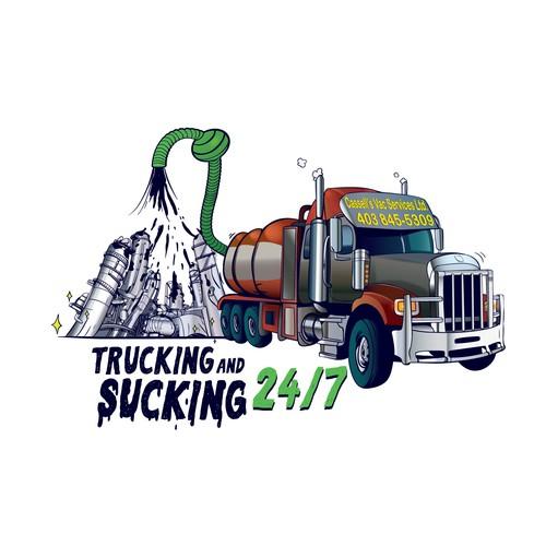 Sticker for oilfield company
