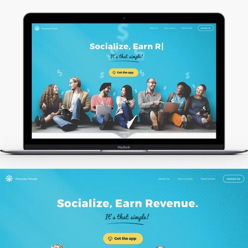 Social App Website