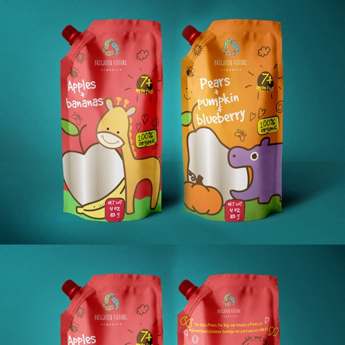 entry for baby food packaging contest