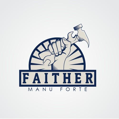 Classic logo design for FAITHER