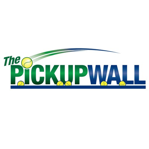 The Pickupwall logo