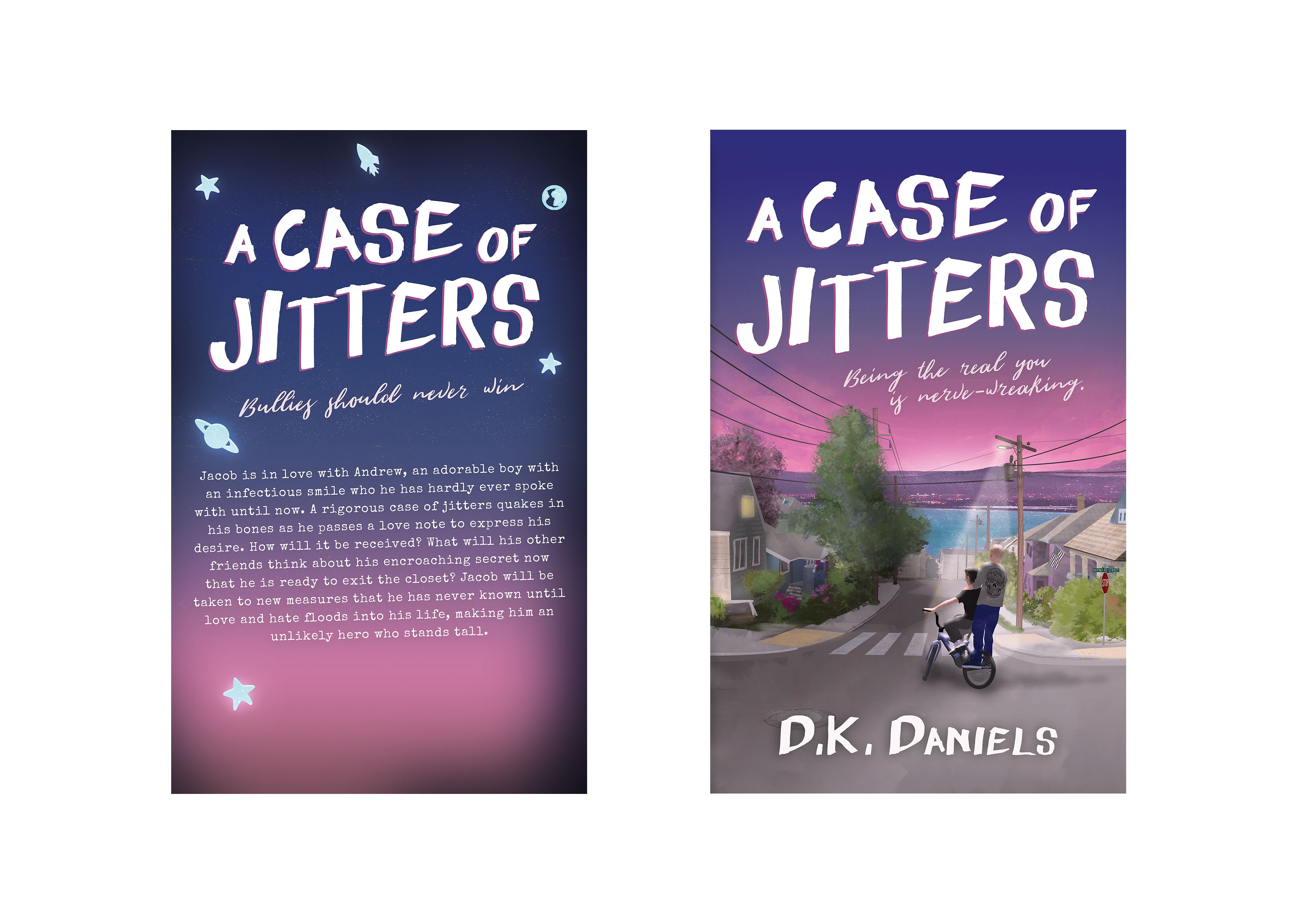 A Case Of Jitters (Novel)