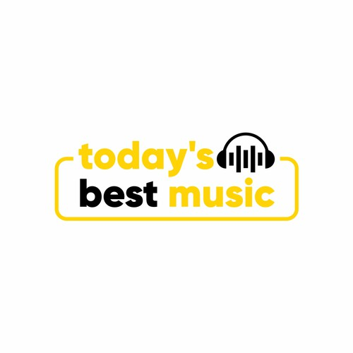 Bold logo for Today's Best Music