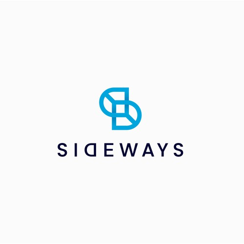 Sideways design logo