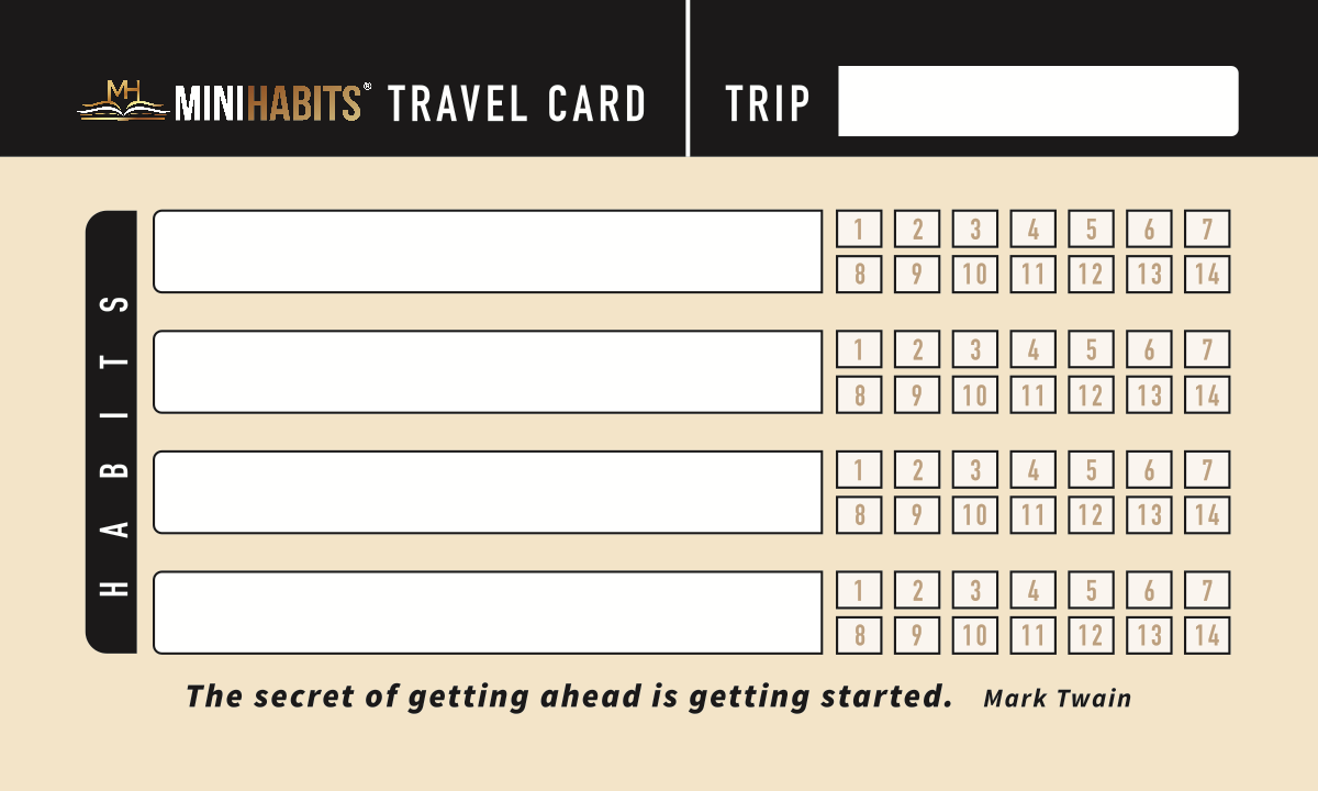 Habit Cards