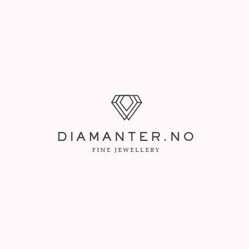 Minimal logo for diamond company