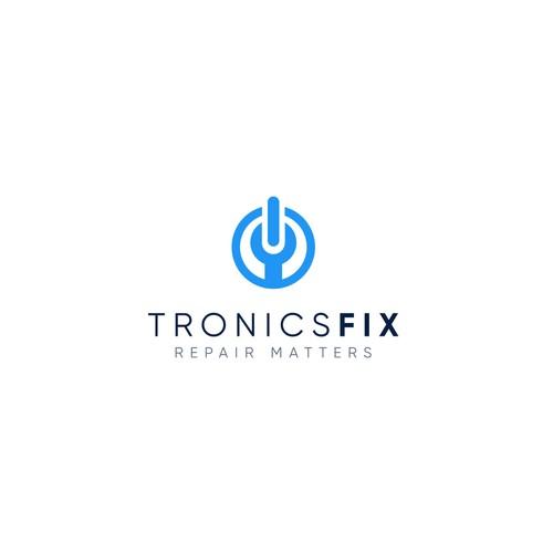 Logo Design for TronicsFix, An Electronics Repair Education Business