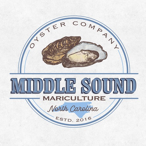 Logo for MiddleSound Oyster Company