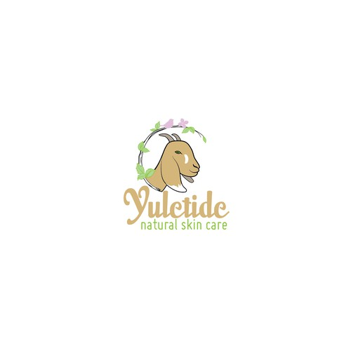 Logo for Natural Beauty products made with goat milk