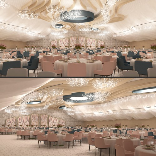Tent rendering for Gala