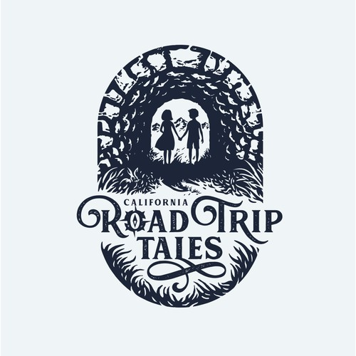 """logo for """"Road Trip Tales"""""""