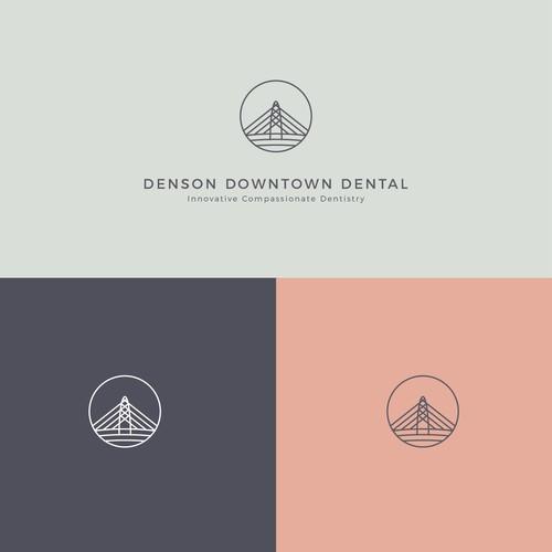 Denson Downtown Dental Logo Design