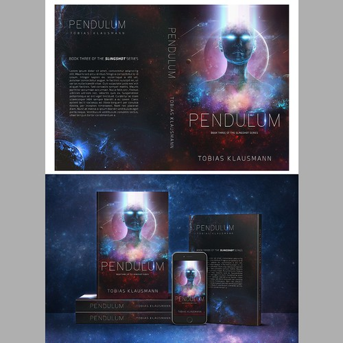 "Contest - Book cover for SF novel ""Pendulum"""