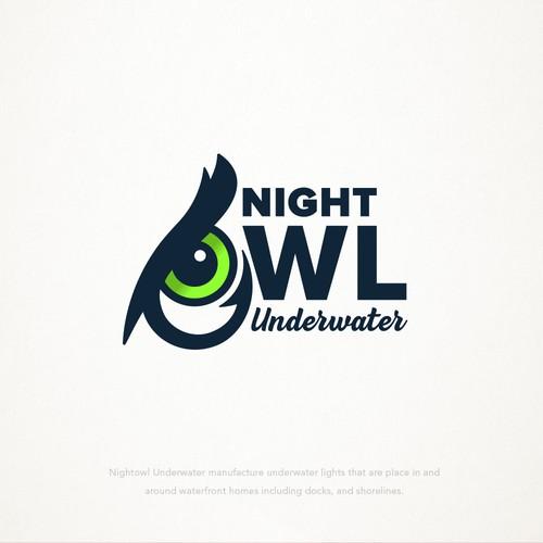 Night Owl Underwater Logo