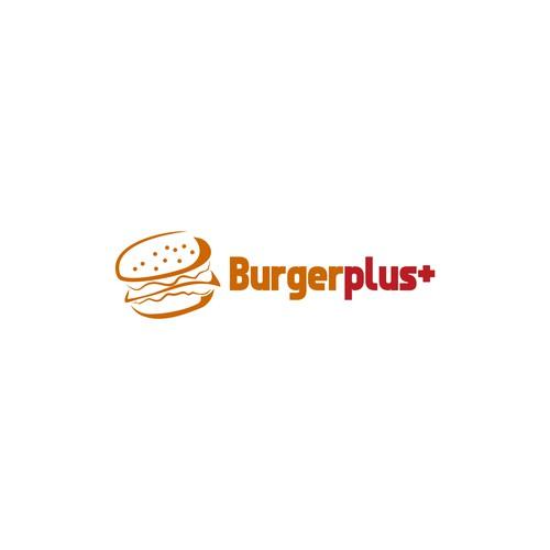 burger logo concept