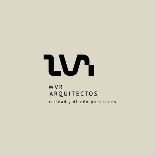 WVR Typographic logo