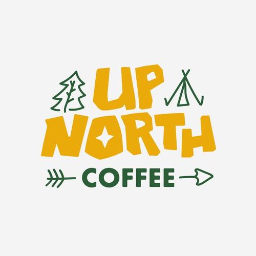 handmade logo for quirky coffee company
