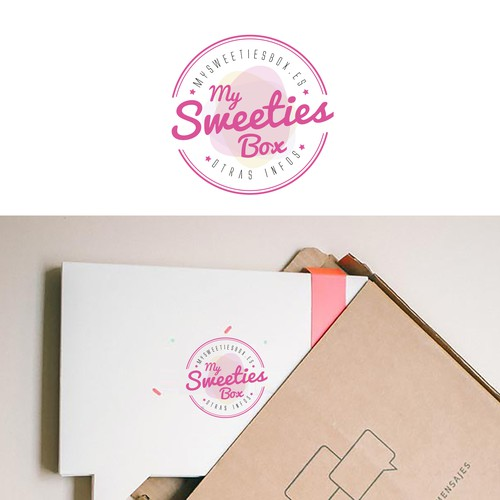 Logo My Sweeties Box