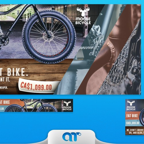 Fat bike banner